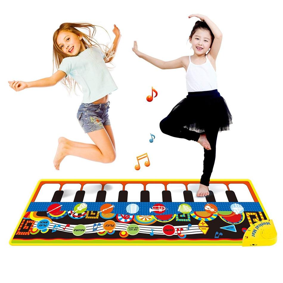 110x36 см музыкальный коврик для пианино детский игровой коврик игрушка музыкальный коврик для инструмента игровой коврик музыкальные игрушк...