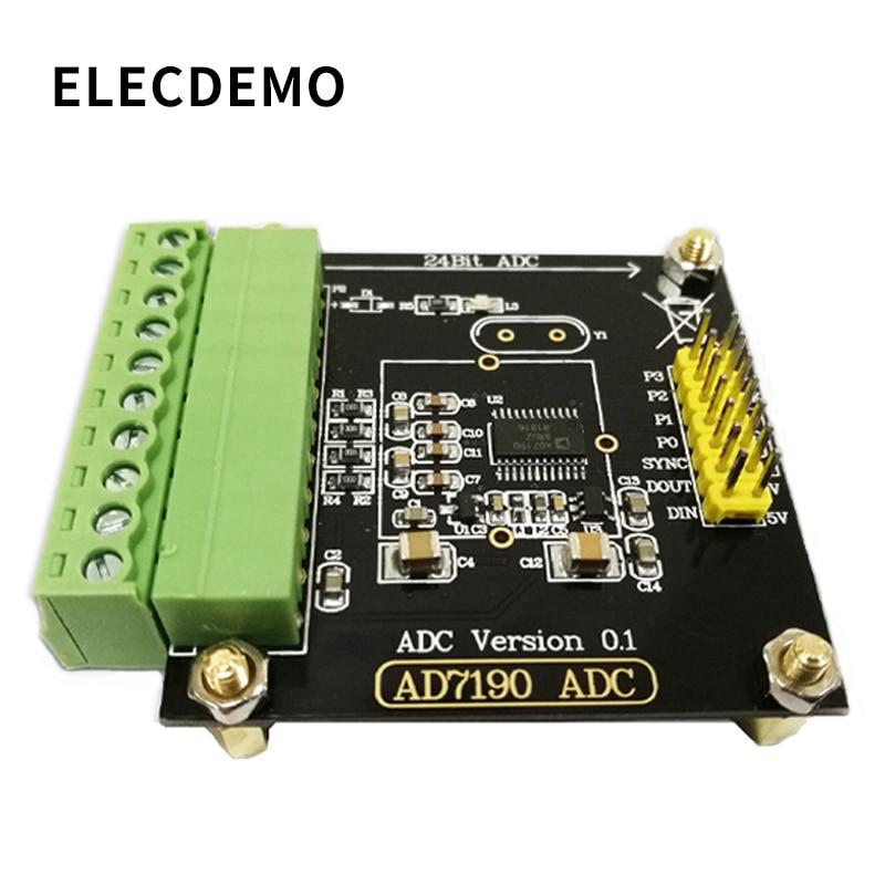 AD7190 Module Digital Weigh Module 24-bit Analog-to-Analog Converter Pressure Sensor High Precision ADC  Module