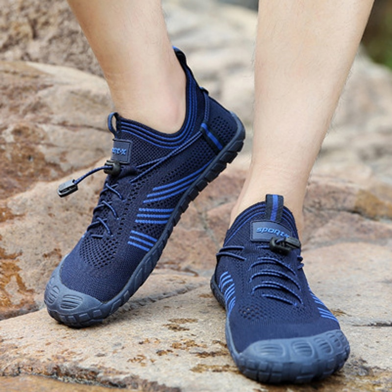Unisex Breathable Aqua Barefoot Shoes Womens booties Water Sports Diving Boating Reef Wading Aerobic