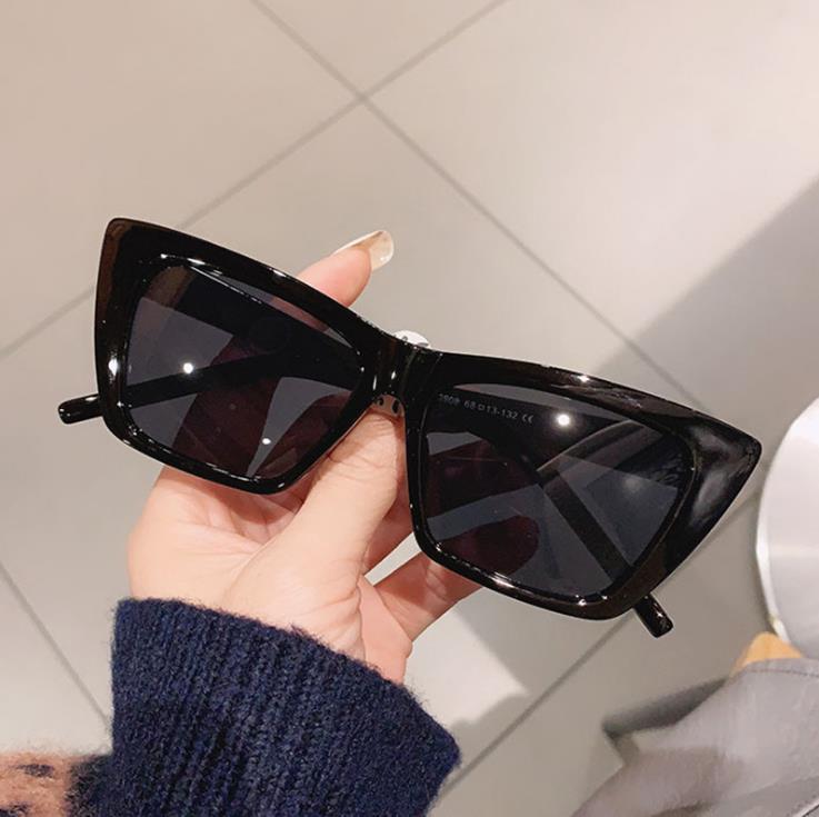 Fashion Vintage Square Sunglasses Women Men Luxury Brand Designer Small Frame Flat Top Gradient Cool
