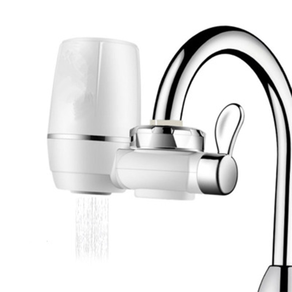 Home Faucet Water Filter System Purifier Kitchen Sink Mount Tap Water Filtration Purifier Cleaner Water Filters Home Chrome