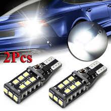 2pcs Super Bright White Canbus LED Bulb For Car Backup Reverse Light 912 921 T15 W16W Car Lights Auto Accessories