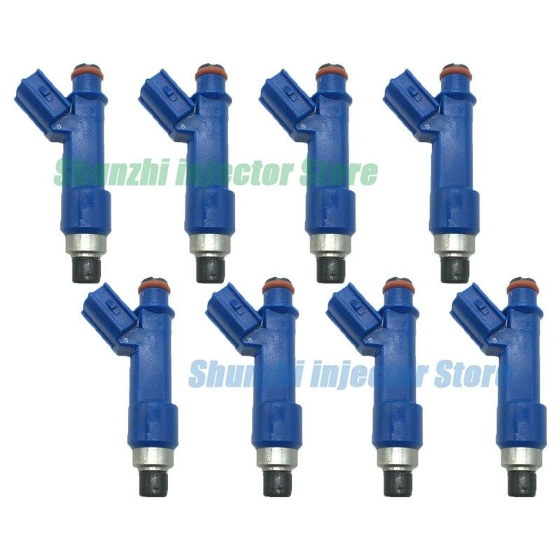 Boquilla de inyector de combustible 8 Uds para Toyota Corolla Matrix Vibe FWD 1.8L 23250-0D050 232500D050 23209-0D050 232090D050