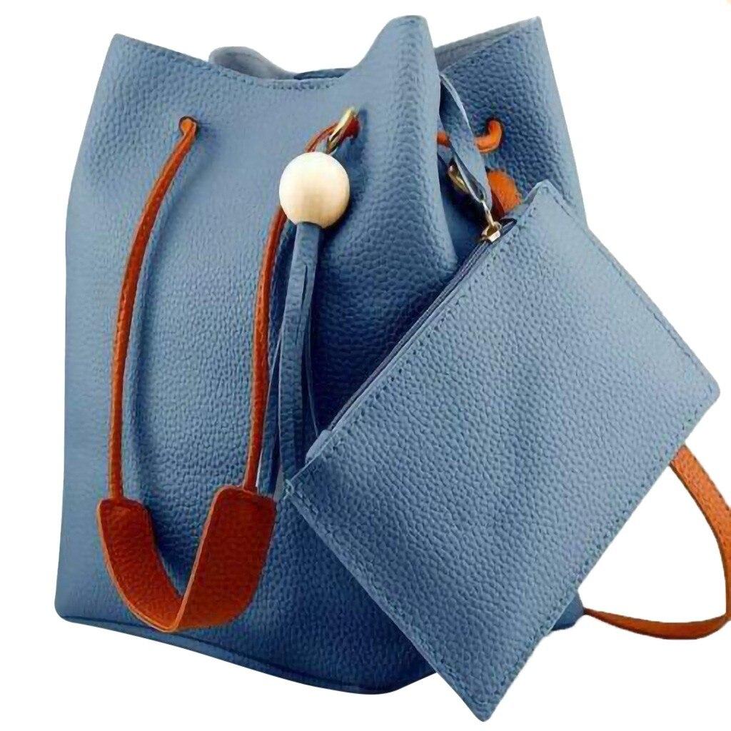 Bolso de hombro informal de gran capacidad a la moda para mujer, bolso con Cruz de cuero de otoño 2020, bolso clásico, bolso Shopper # LR1