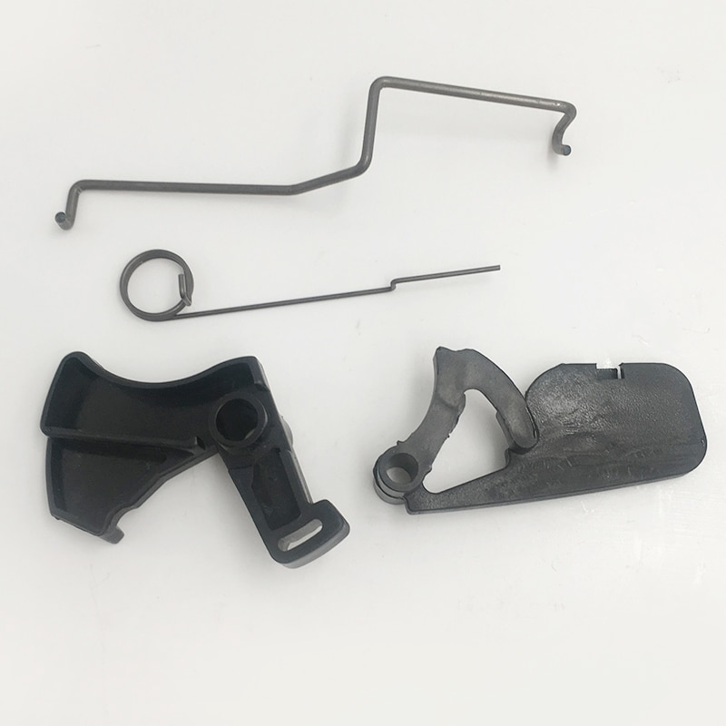 HUNDURE Throttle Trigger Rod Lever Arm Spring Kit For Stihl 017 018 MS170 MS180 Chainsaw Parts throttle choke rod intake manifold air filter breather kit fit husqvarna ms180 ms180c ms170 018 017 chain saw parts