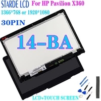 14 6 for hp pavilion x360 14 ba 14m ba lcd display touch screen digitizer assembly b140xtn02 e n140hce eba 1366768 19201080