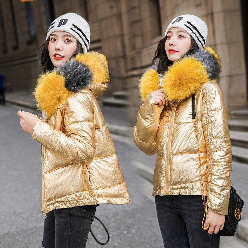 Chaquetas de Invierno a la moda para Mujer, abrigo cálido, chaqueta de...