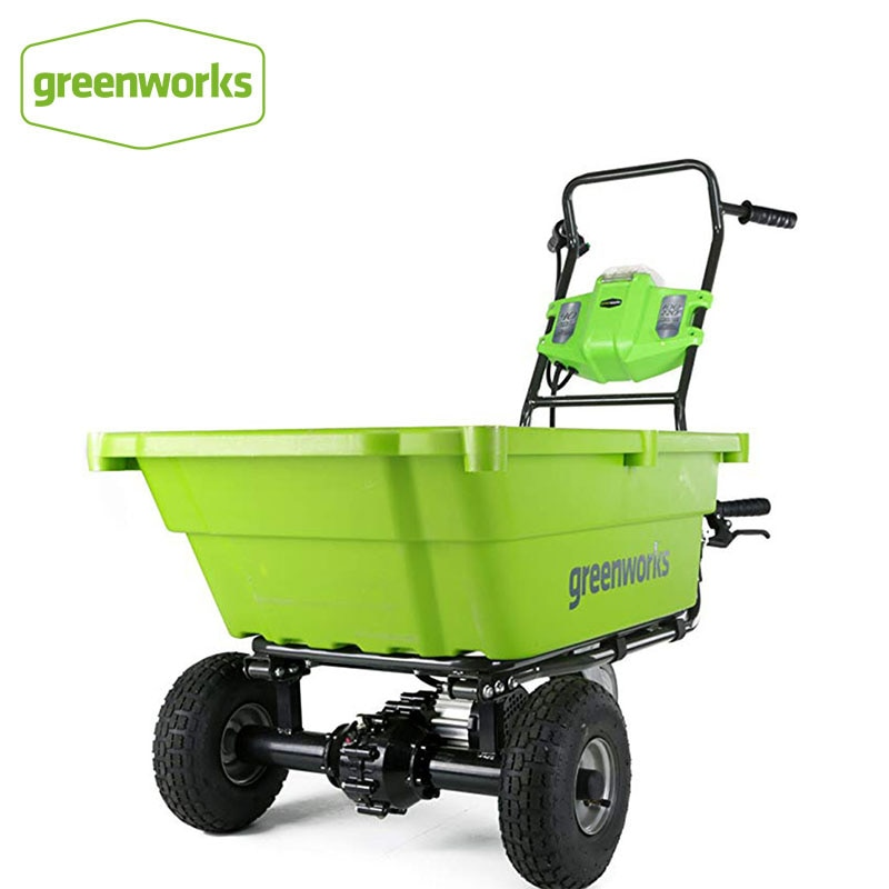 Carrinho de Compras de Jardim Resistente à Ferrugem Carregadores de Baterias Greenwork G-max Auto-hélice Excluindo Gc40l00 40 v