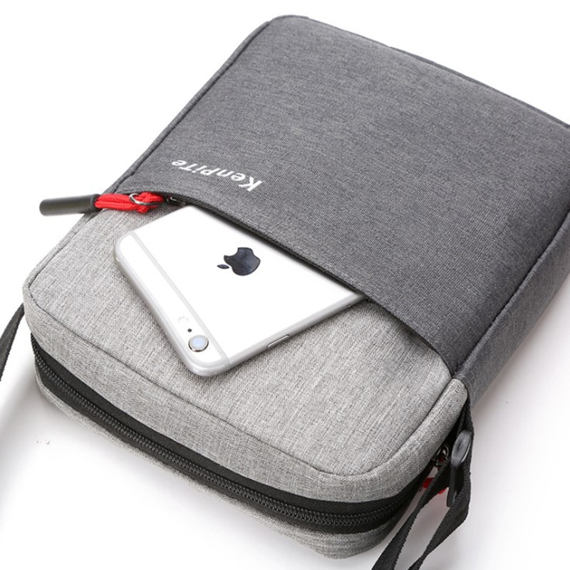 Shoulder Bag Outdoor Single-shoulder Cross-body Outdoor Mobile Phone Handbag Uni Bag Soft Travel Bag Leisure Bag 17 cm *22 cm