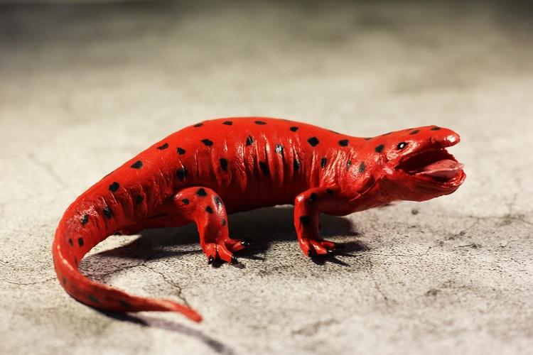 pvc  figure  model  toy  Simulation animal model  toy  giant salamander