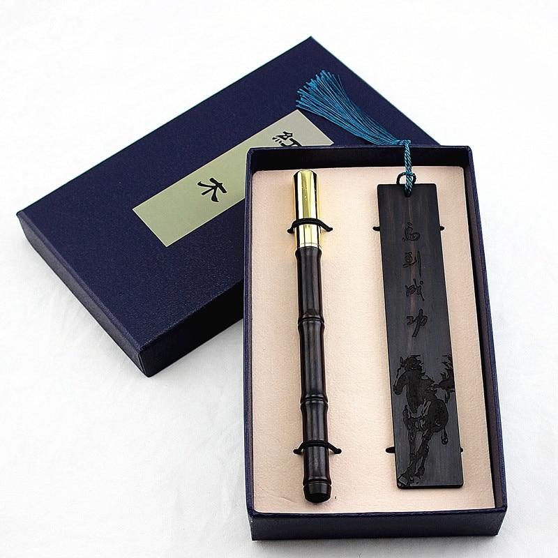 Bolígrafo cuerpo de madera latón Metal tapa de lapicera bolígrafo para escribir artículos de papelería de la escuela suministros de regalo madera tallada marcador