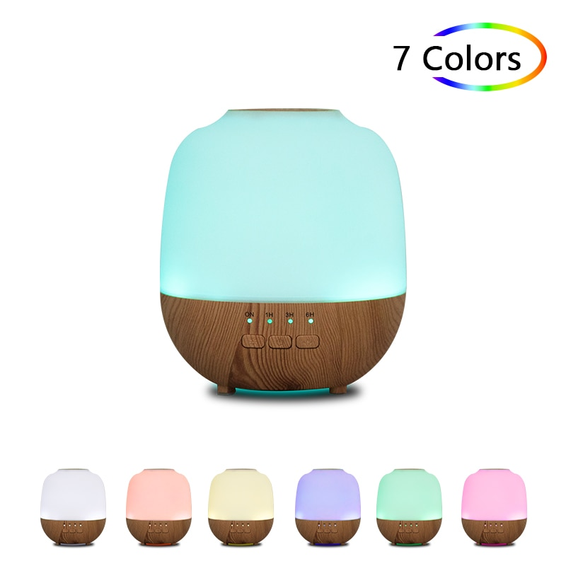 Electric Aromatherapy Diffuser Essential Oil Mini Air Humidifier For Home Office Ultrasound Wood Grain USB Room Fragrance Aroma glorystar seven colors aromatherapy essential oil diffuser ultrasound atomization mini desktop humidifier household bedroom