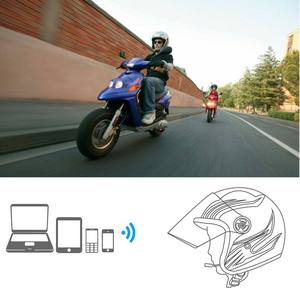 Motor Wireless Bluetooth 4.1 Headset Motorcycle Helmet HiFi Headphone Speaker Handsfree Music Earphone For Scooter Hata