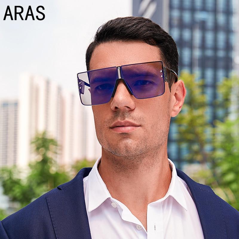 Oversized Rimless Sunglasses Women Fashion Square Sunglasses Men Metal Gradient Sun glasses Luxury Brand Female Eyewear  Oculos carrera hot s adult fashion sunglasses eyewear green havana silver brown gradient