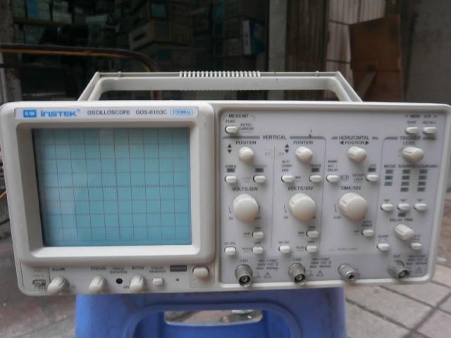 Osciloscopio DHL/EMS Instek GOS-6103C GOS6103C 100 con mango de buena calidad