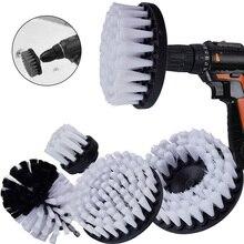 3/4/5 pièces perceuse puissance gommage brosse propre pour cuir plastique meubles en bois voiture intérieurs nettoyage puissance gommage 2/3.5/4/5inch