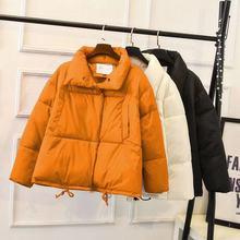 2019 가을 겨울 자켓 여성 코트 패션 여성 스탠드 겨울 자켓 여성 파카 따뜻한 캐주얼 플러스 사이즈 오버 코트 자켓 파카