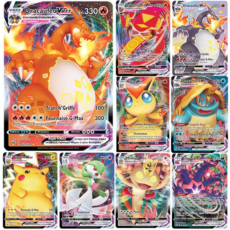 cartas-de-pokemon-vmax-en-ingles-frances-cartas-coleccionables-de-pokemon-vmax-dracaufeu-pikachu-torgamord-victini-morpeko-100-uds