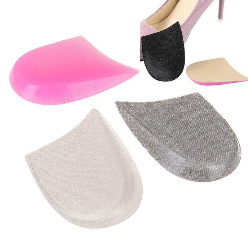 Xo pernas palmilhas ortopédicas silicone arco almofada de apoio feminino pé plano ortopédico inserções alívio da dor sapato de salto alto almofadas 2pc