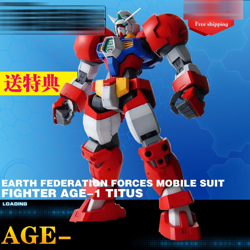 DABAN דגם 1/100 MG 6611 אדום AGE1 אמיץ סוג טיטוס ספוט פעולה איור ילדים הרכבת דגם צעצועי מתנות
