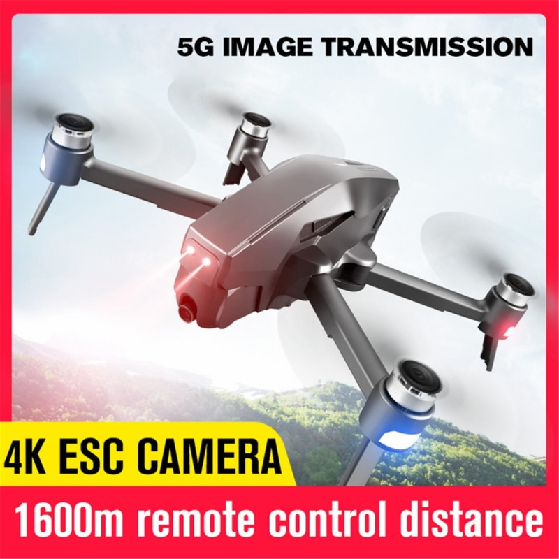 Drones avec caméra hd 4k 5G Wifi FPV Profession Drone RC 2KM Distance rc quadrirotor vol 20 minutes hélicoptère vs x7 SG906 Pro