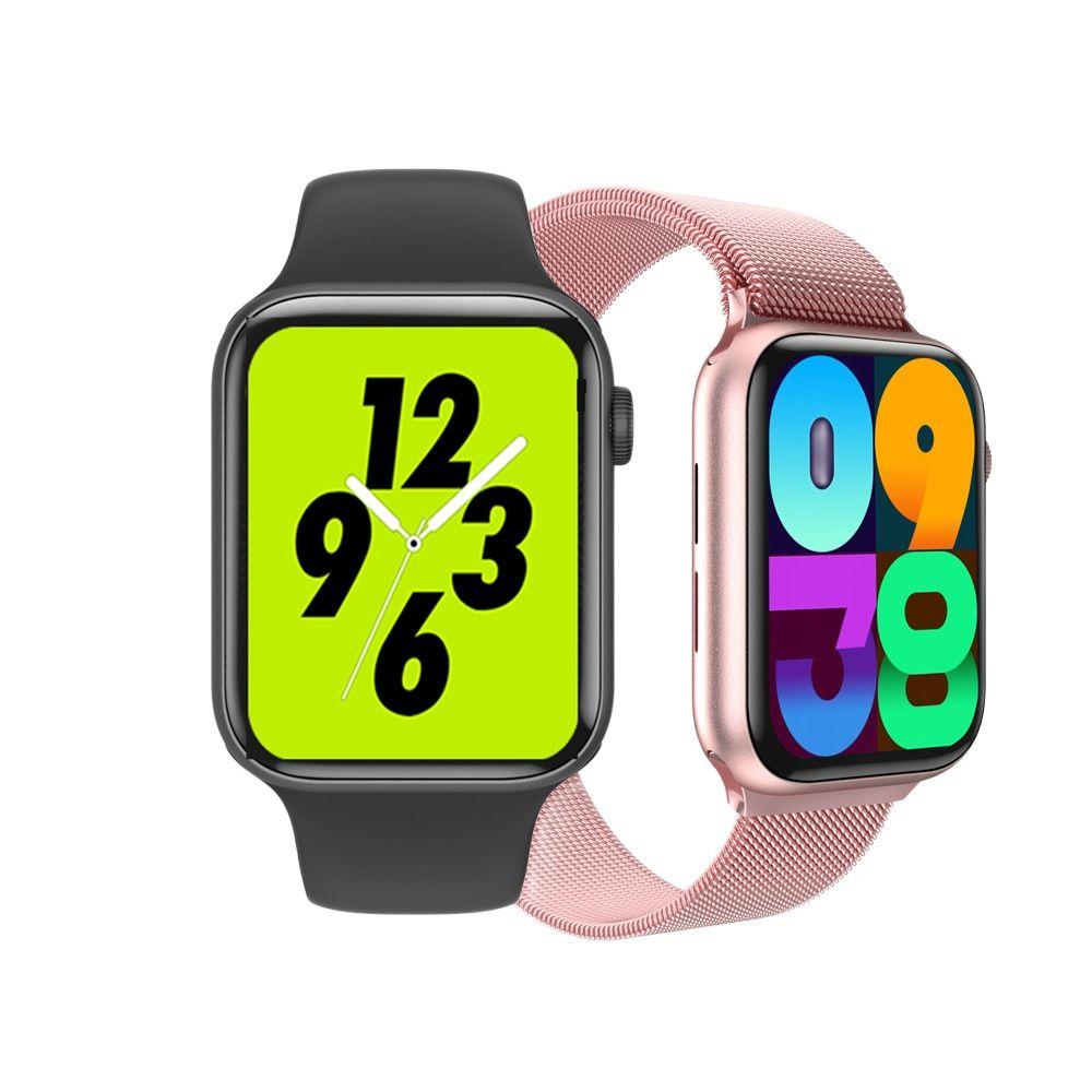 Tela de Carga sem Fio para Mulheres dos Homens Smartver para Iphone Relógio Inteligente k8 44mm Série 5 1.78hd Ios Android Telefone Banda 2021 Iwo 14
