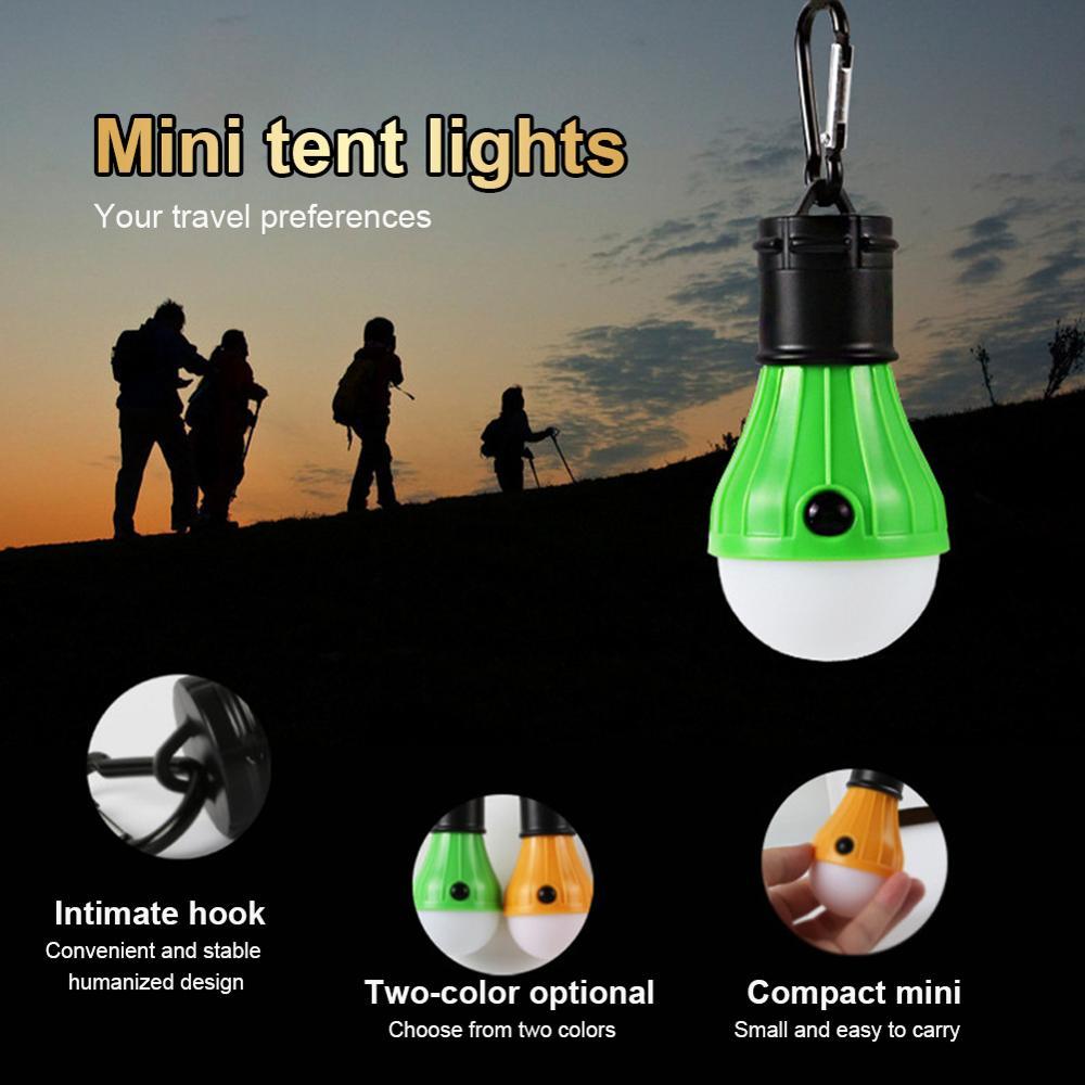 Светодиодный подвесной светильник для палатки, портативный светильник, фонарь для палатки, светильник для улицы, SOS аварийный карабин, ламп...