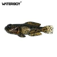 1pcs 75mm 9 3g goby soft lure swimbait 0 33oz 3inch fish baits finest detailed top quality softbait soft fishing bait