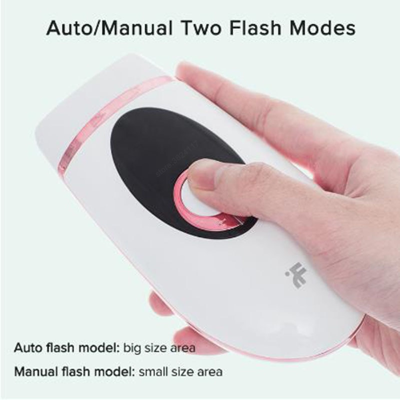 Electric IPL Hair Removal Instrument Portable Laser Epilator LCD Display Permanent Painless Hair Removal Device enlarge