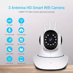 1080P HD Wifi Wireless  IP Camera Mini Baby Monitor Smart Home Security Protection  2-Way Audio CCTV Video Surveillance Camera