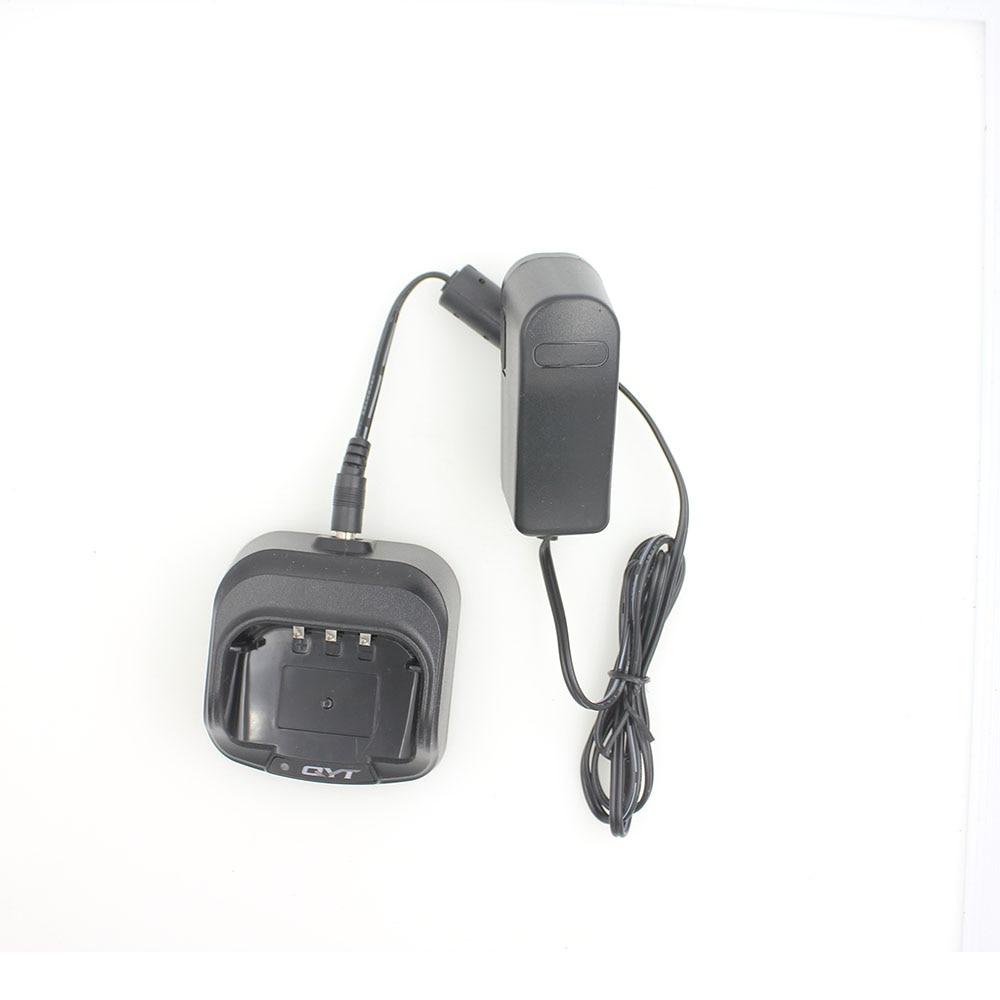 QYT cargador Original para KT-8R Quad Band Walkie talkie UHF, VHF 136-147Mhz 400-470mhz 220-270mhz 350-390 mhz 4 banda de Radio de dos vías