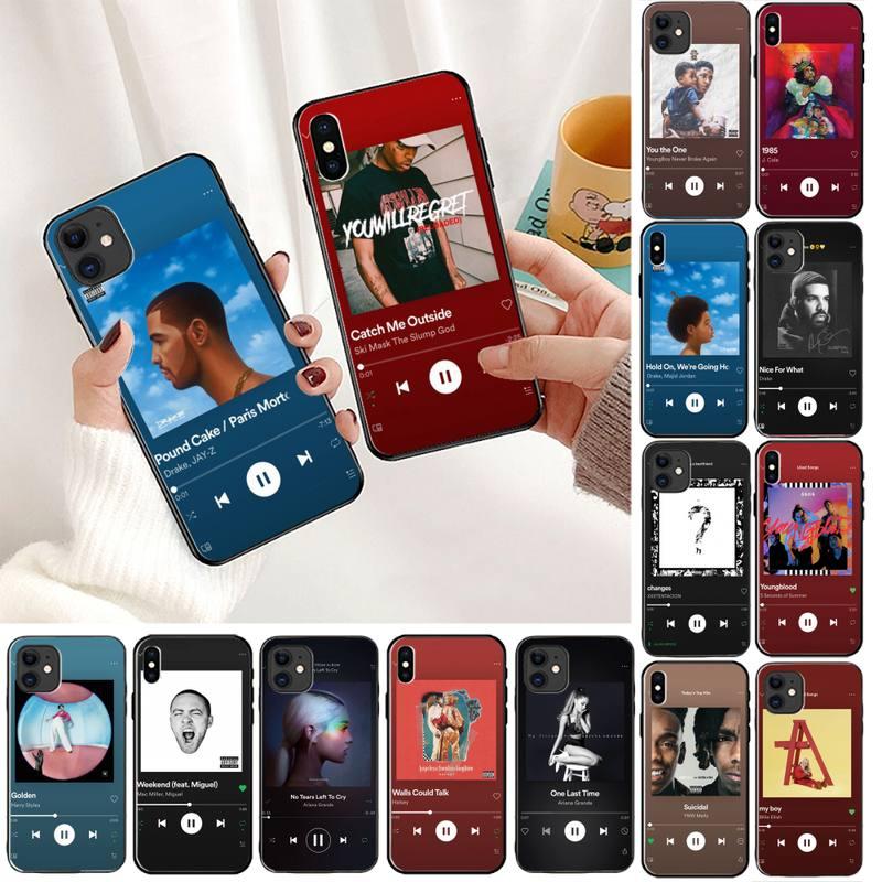 5 SOS Drake Harry estilos álbum canción funda para teléfono para iPhone 5s 11 8 7 6 6S Plus 7 7 8 plus X XS X MAX 5 5S XR 11 Pro max SE 2020
