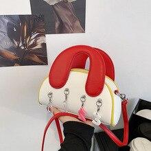 Luxury Handbags Women Crossbody Bag Pu Leahter Shoulder Bags for Women Digital Pendant Shell Bag Hig