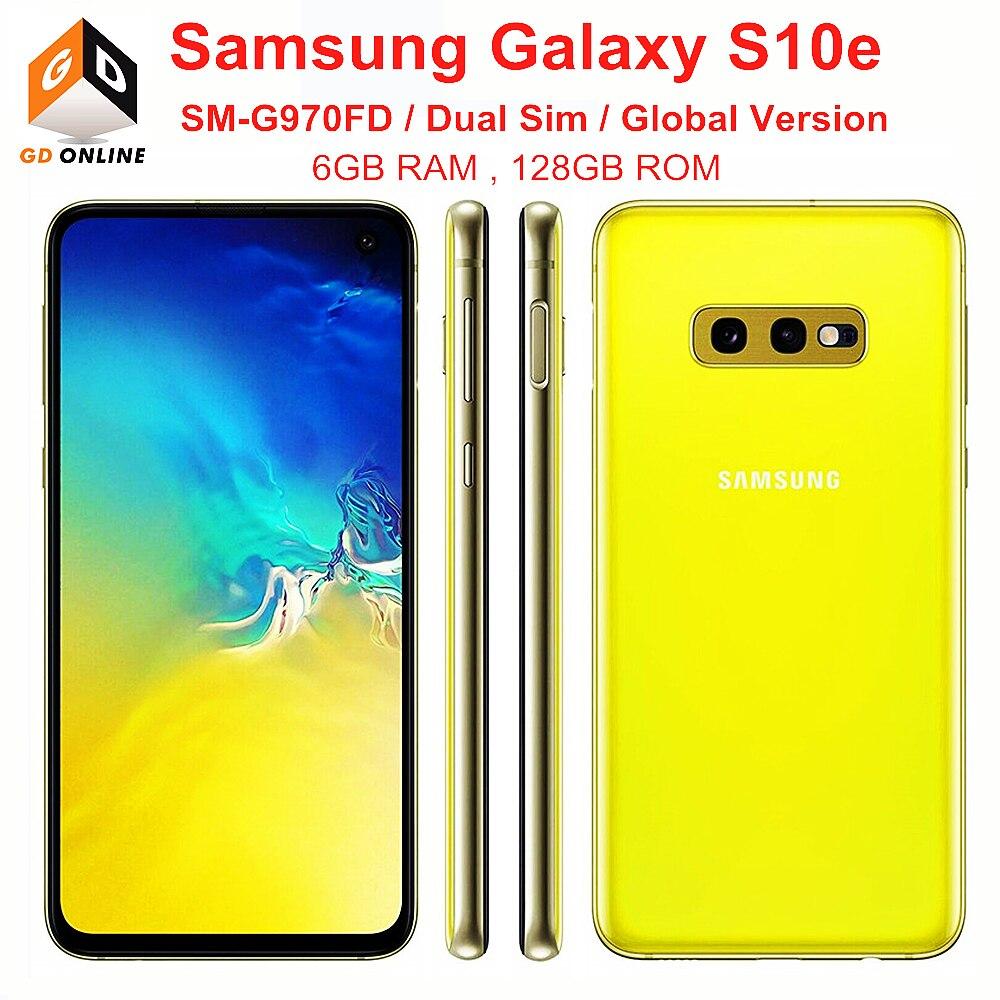 Перейти на Алиэкспресс и купить Samsung Galaxy S10e Duos G970FD Dual Sim глобальная версия Exynos 6 ГБ ОЗУ 128 ГБ ROM Octa Core 5,8 дюймNFC Оригинальный разблокированный сотовый телефон