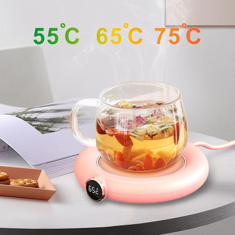 Подогреватель для чашек с USB, 3 режима, подогрев для кофе, молока, чая