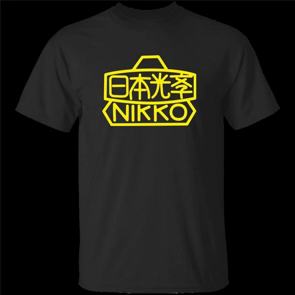 Nikon, cámara, fotógrafo, fotografía, SLR, DSLR, F-, Original, temprano, Logo Gyms Fitness camiseta