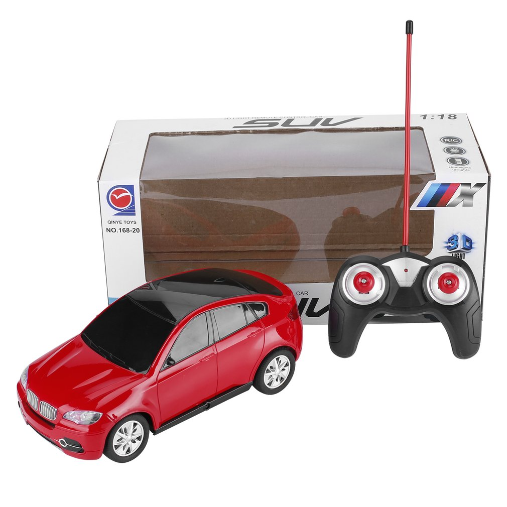 1:18 Electric RC Cars Toy Simulation Radio Remote Control Toys Vehicle Toys with 3D Lights Gift for