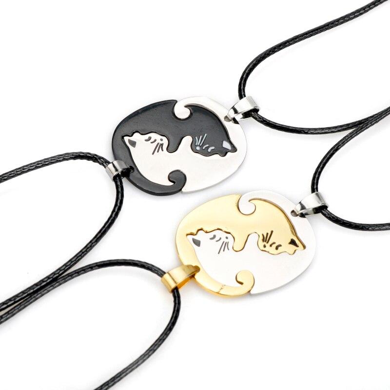 Collar de joyería para parejas nuevo diseño par de amantes celestes regalo para infinitos accesorios de signo de amor para amantes