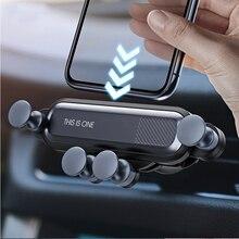 Schwerkraft Auto Telefon Halter Air Vent Clip Halterung für Volkswagen VW Polo Tiguan Passat B6 B7 B8 T5 T6 Golf UP Vento Arteon Touareg