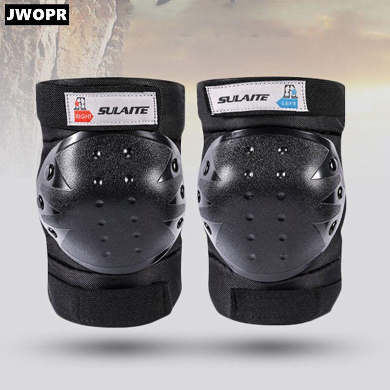 معدات حماية لركوب الدراجات النارية من JWOPR معدات التزلج على الجليد وسادات الركبة الرياضية الخارجية ملحقات الدراجات النارية