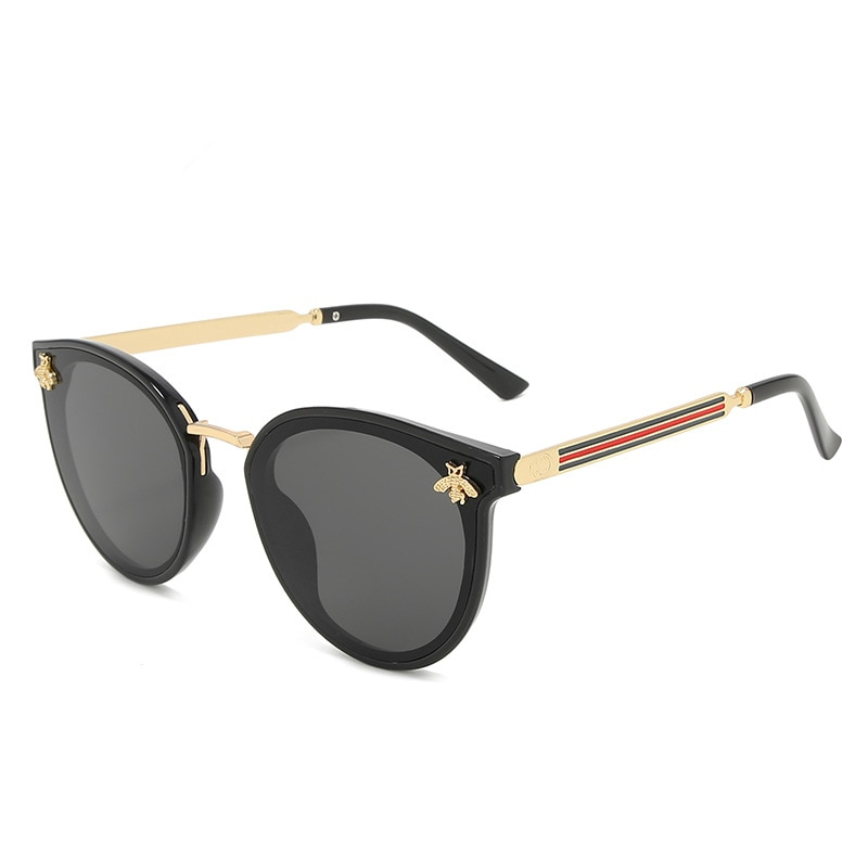 2021 new sunglasses bee red green Fashion UV sunglasses vintage glasses retro sunglasses sunglasses