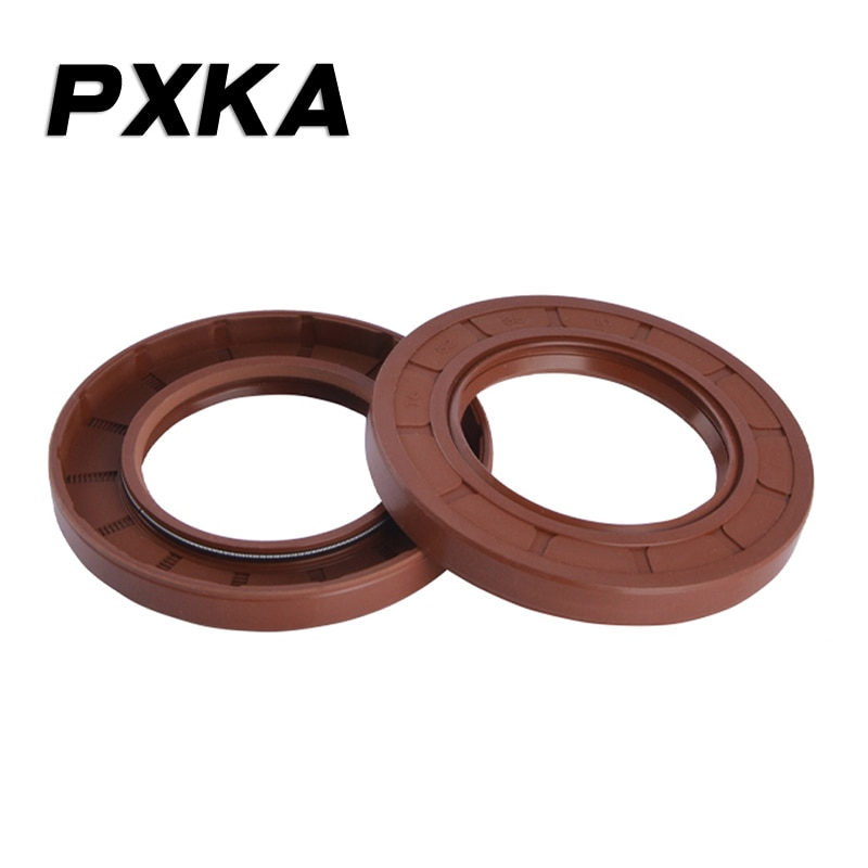 2PCS FKM FPM FR oil resistant fluorine rubber skeleton oil seal 40X56X7/40X56X8/40X56X10/40X56X12/40X58X7/40X58X8/40X58X10
