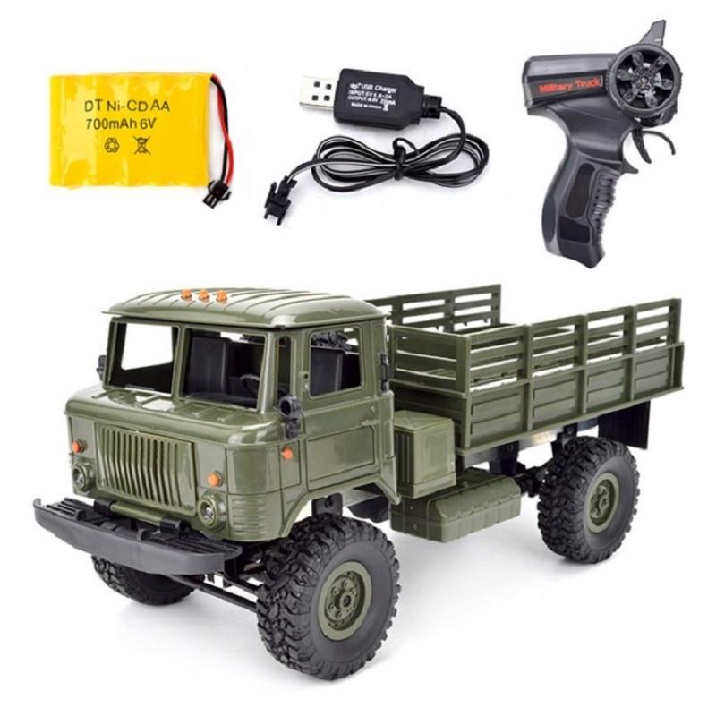 B-24 GAZ-66 1/16 Remote Control Military Truck 4 Wheel Drive Off-Road B24 RC Car Model Remote Control Climbing Car