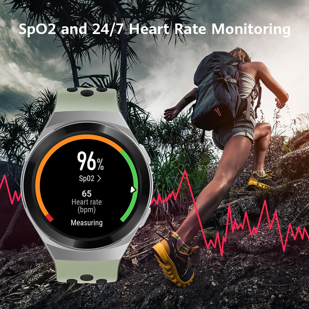 HUAWEI Watch gt2/watch fit Global Version Smart Watch 1.39'' AMOLED Screen 14 Days Life 5ATM Waterproof Heart Rate Tracker