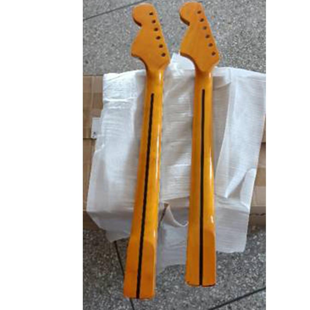 24 Frets Electric Guitar Neck Rosewood Fingerboard Maple Handle Electric Guitar Handle Stringed Musical Instrument Parts enlarge