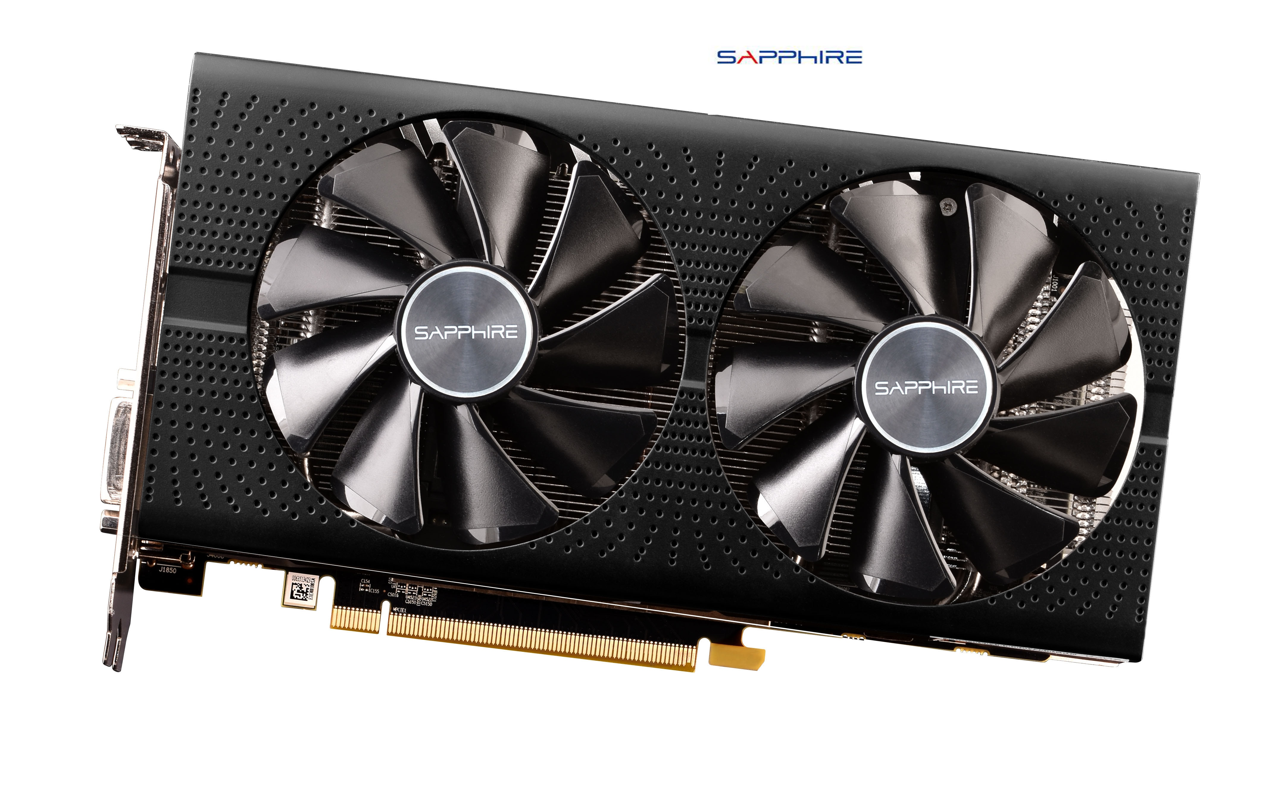 Used,SAPPHIRE Video Card RX 580 4GB 256Bit GDDR5 Graphics Cards DisplayPort DVI (2048 stream processor)