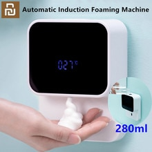 Youpin LED Display Automatic Induction Foaming Hand Washer Sensor Foam Household Infrared Sensor For Homes Mall WC new