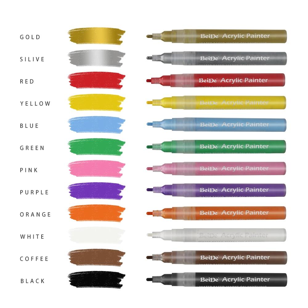 vernice-acrilica-penne-per-il-rock-pittura-18-colori-vivaci-vernice-marcatori-kit-per-vetro-pietra-legno-tessuto-metallo-ceramica-rock
