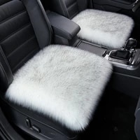 soft warm faux fur car seat cover automobiles seat covers universal seats cushion wool winter auto seat cover chair protection