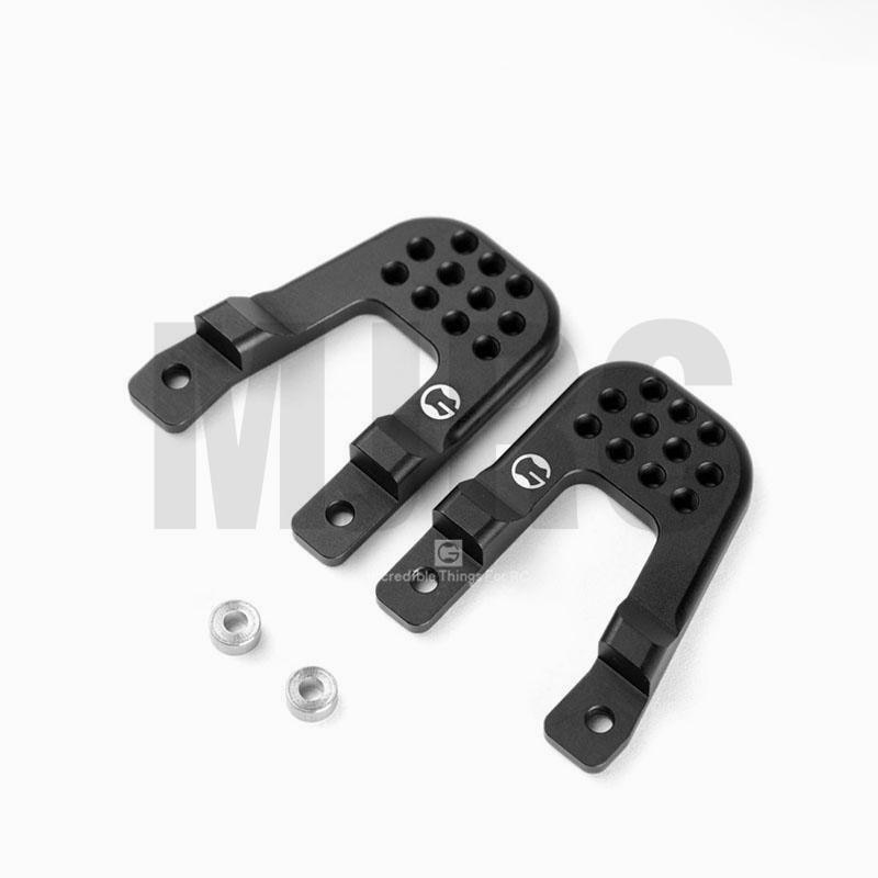 1pair Metal Suspension Support Foothold For 1/10 RC Crawler Car MST CFX CMXJIMNY Metal upgrade accessories enlarge